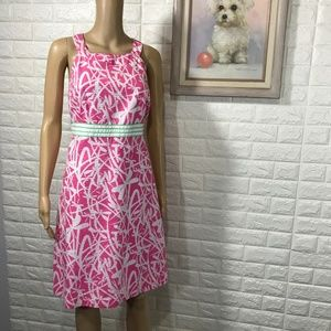 Lilly Pulitzer Tinsley Dragonfly Dress size 12